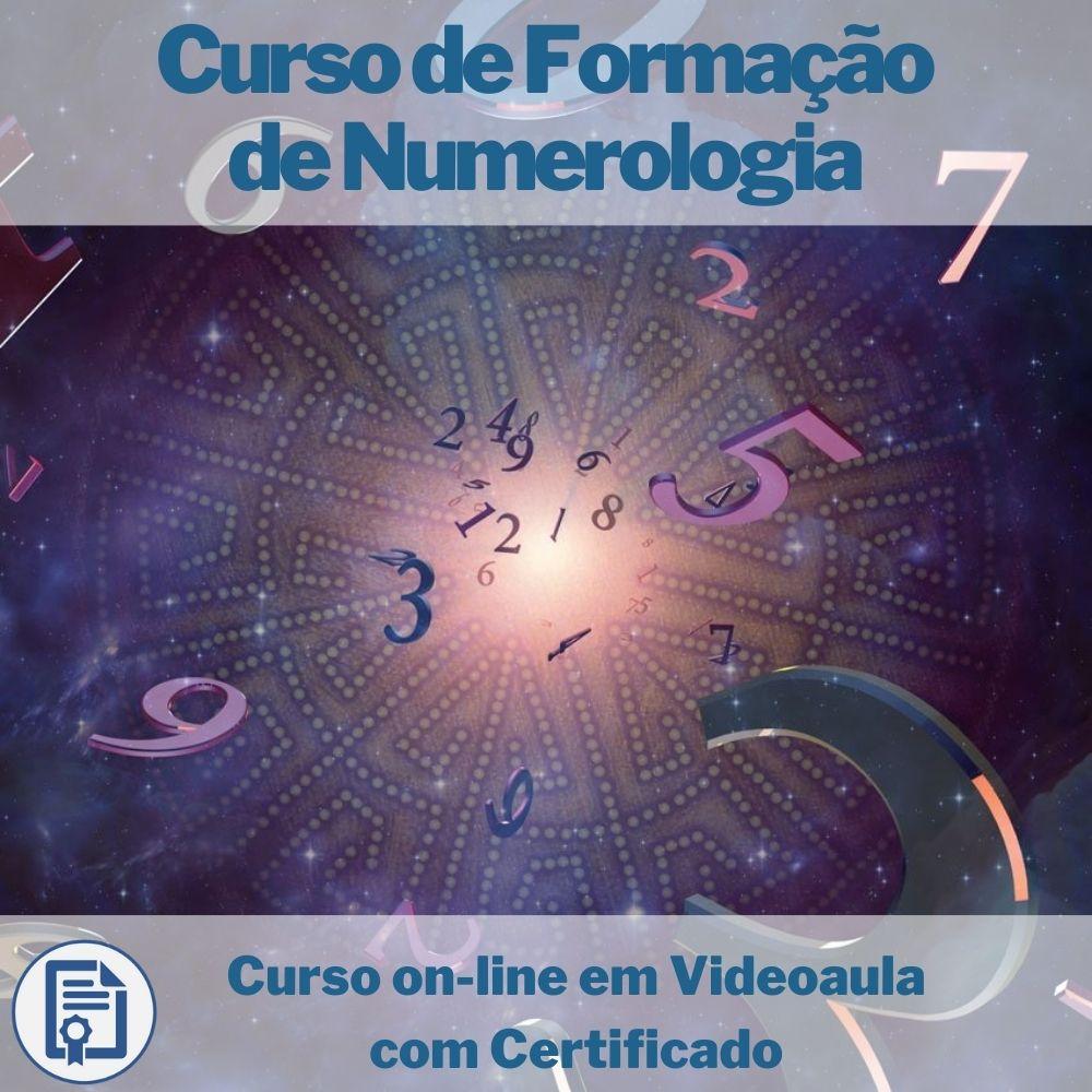 Curso on-line em videoaula de Formação de Numerologia com Certificado