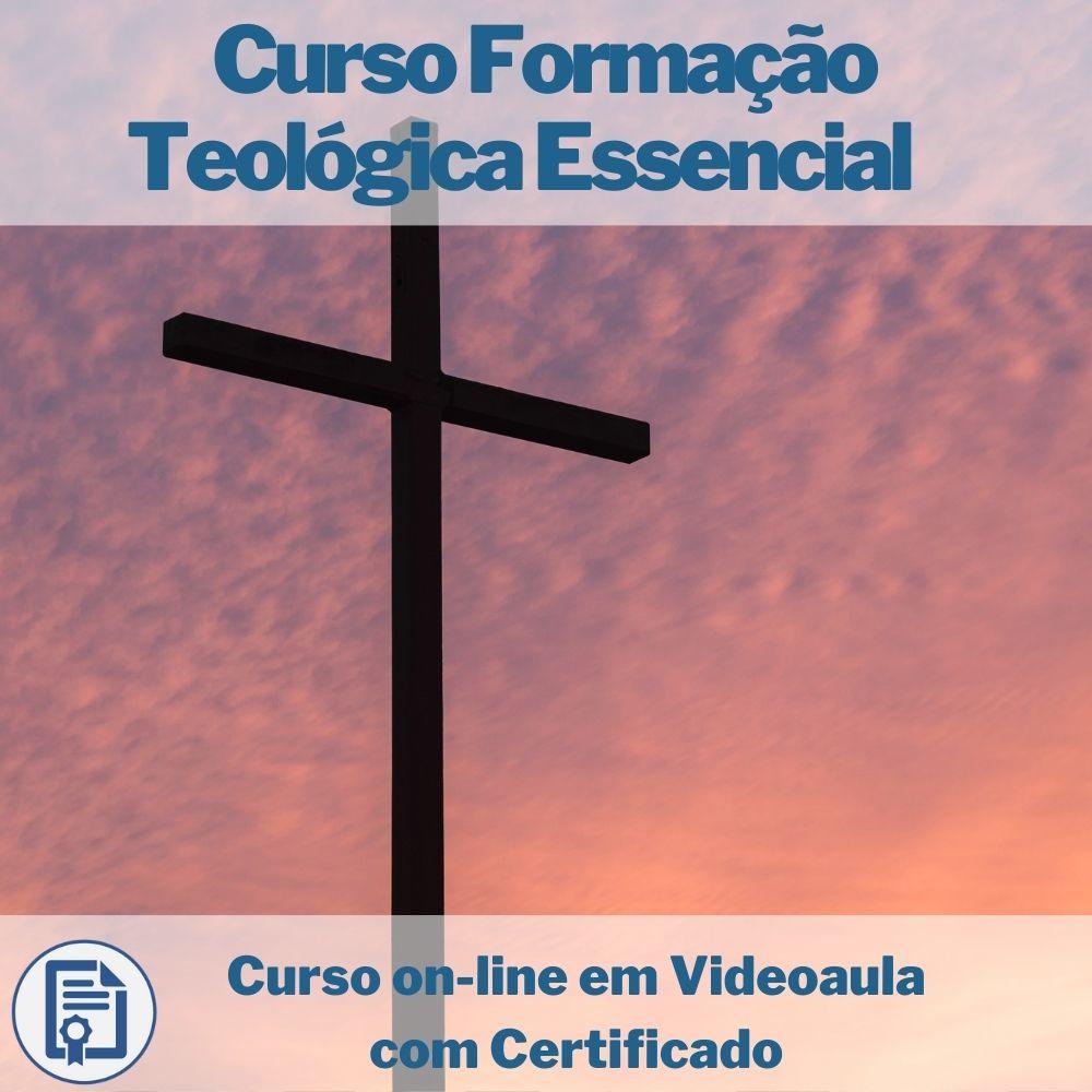 Curso on-line em videoaula de Formação Teológica Essencial  com Certificado