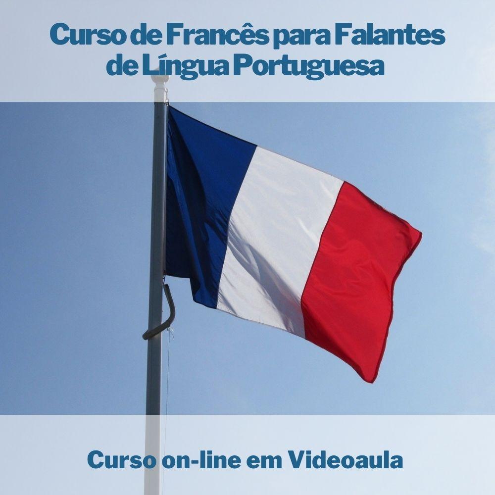 Curso on-line em videoaula de Francês para Falantes de Língua Portuguesa