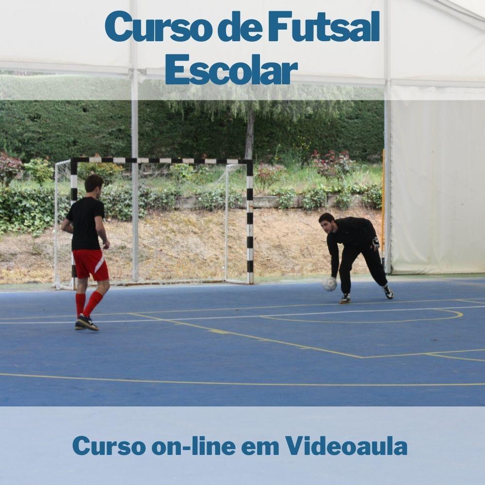 Curso on-line em videoaula de Futsal Escolar com Certificado