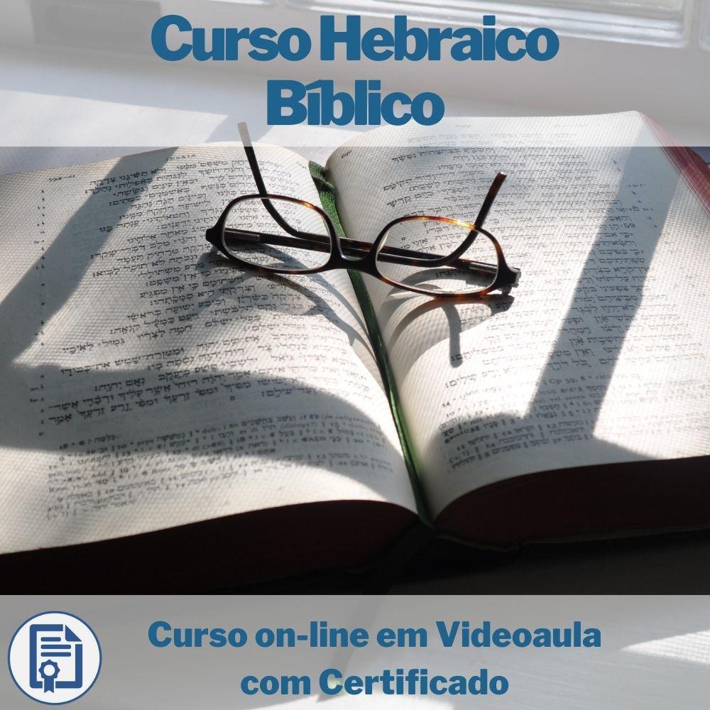 Curso on-line em videoaula de Hebraico Bíblico com Certificado