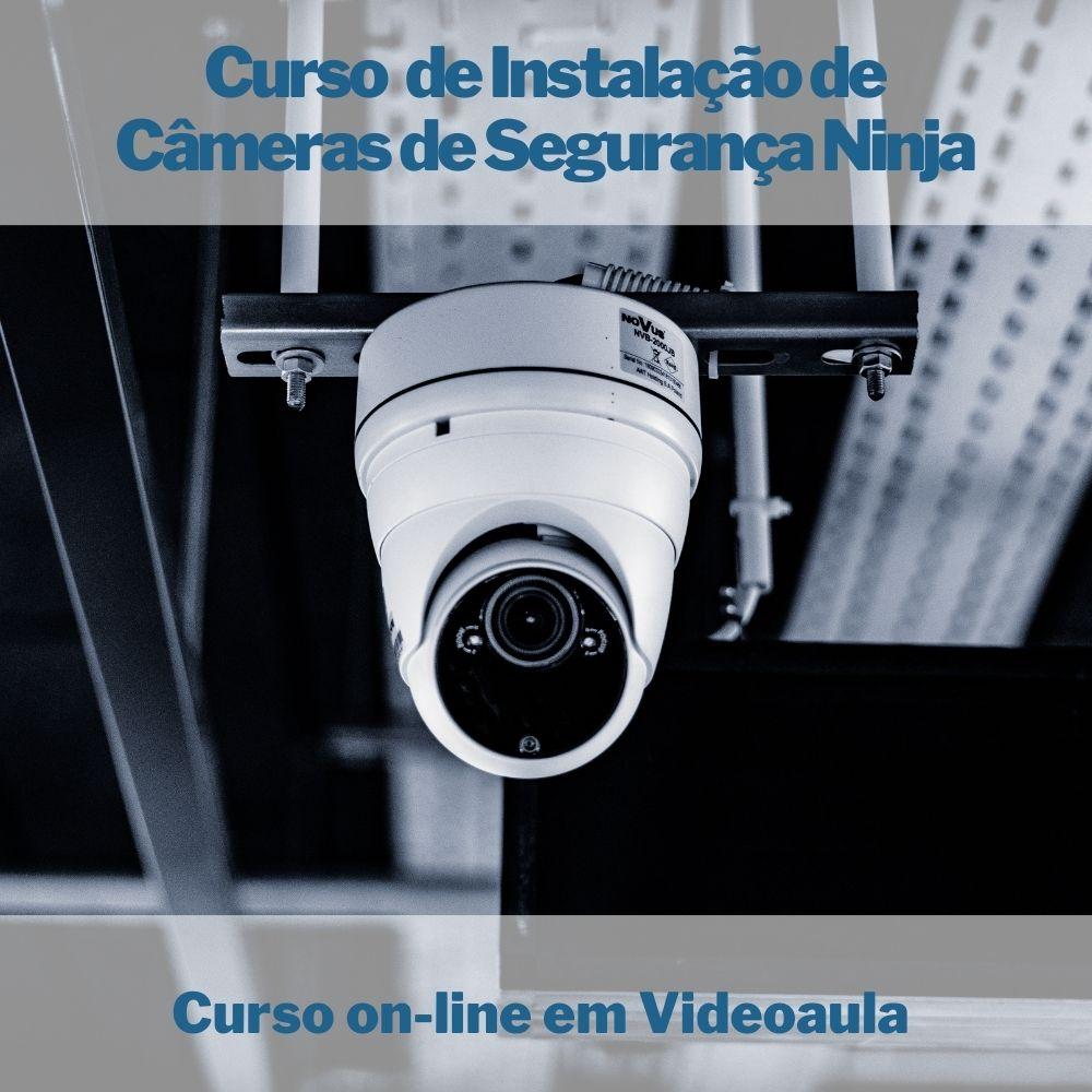 Curso on-line em videoaula de Instalação de Câmeras de Segurança
