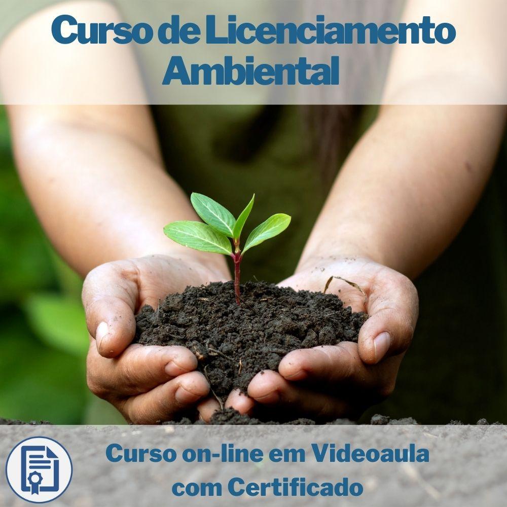 Curso on-line em videoaula de Licenciamento Ambiental com Certificado