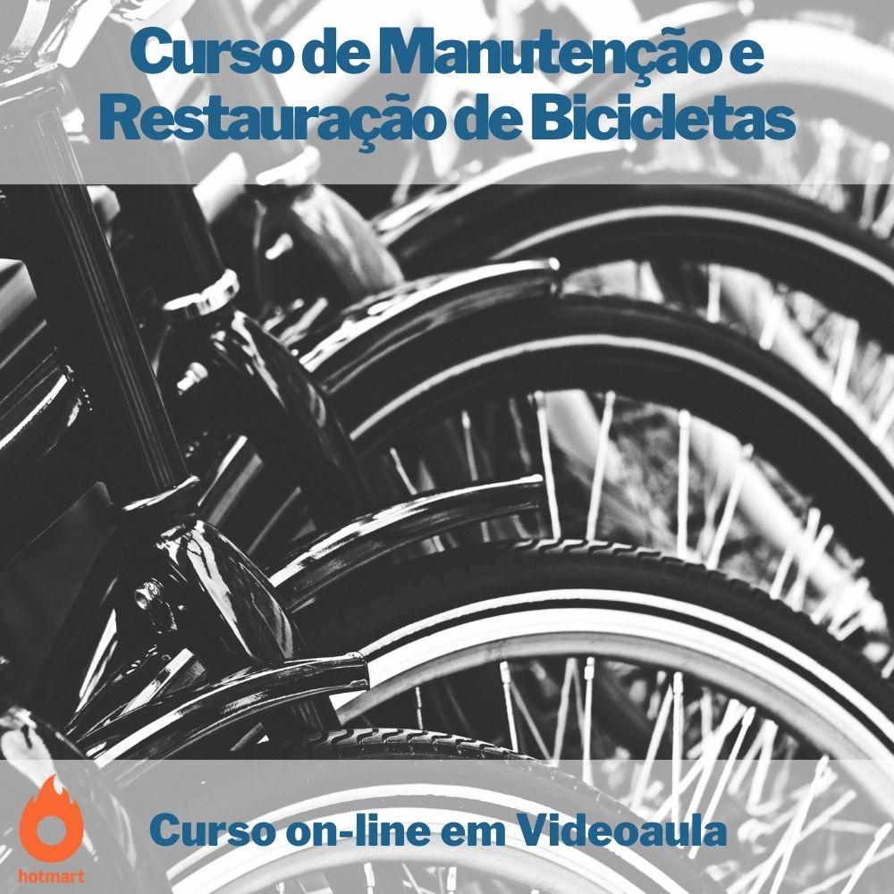 Curso on-line em videoaula de Manutenção e Restauração de Bicicletas
