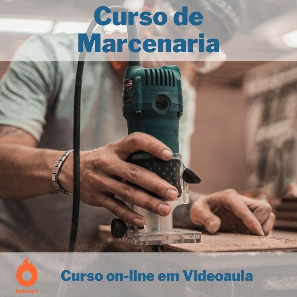 Curso on-line em videoaula de Marcenaria