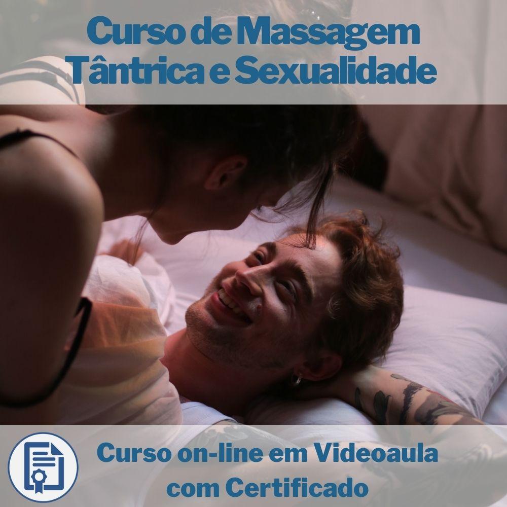 Curso on-line em videoaula de Massagem Tântrica e Sexualidade com Certificado