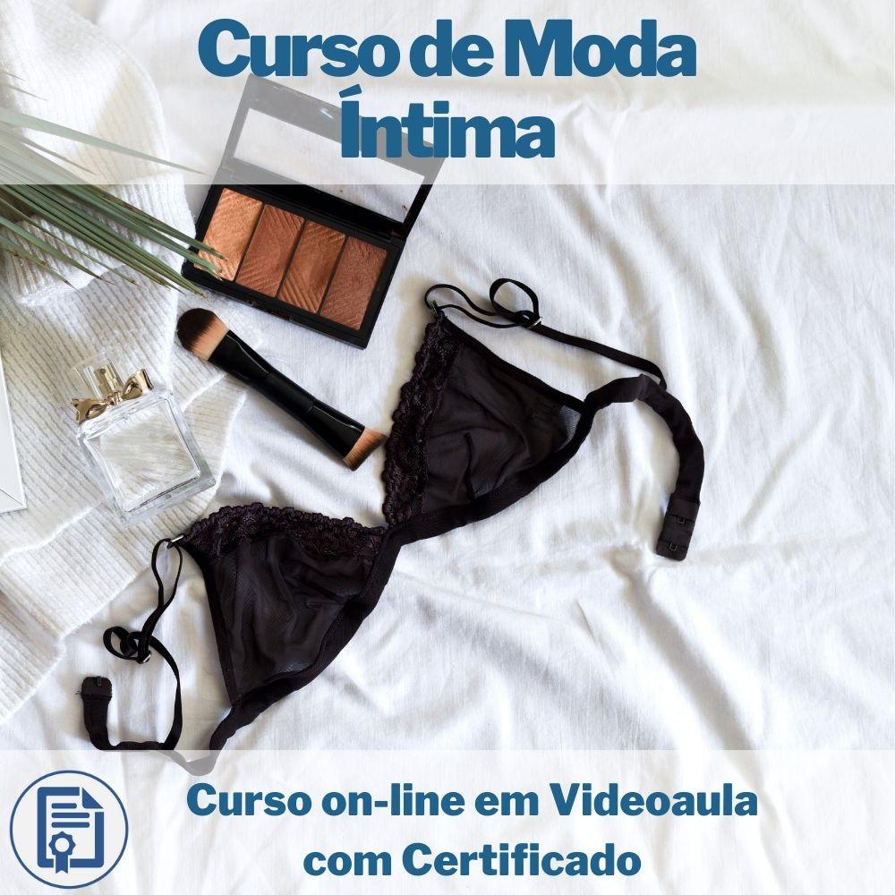 Curso on-line em videoaula de Moda Íntima com Certificado