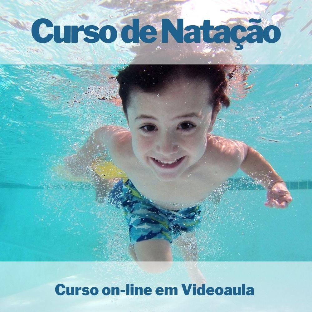 Curso on-line em videoaula de Natação: 8 Aulas para Ensinar seu Filho a Nadar
