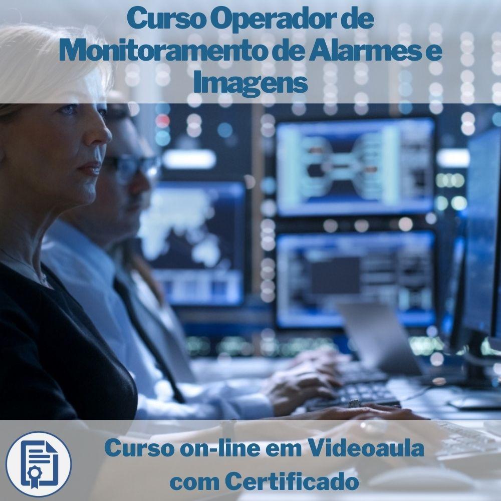 Curso on-line em videoaula de Operador de Monitoramento de Alarmes e Imagens com Certificado