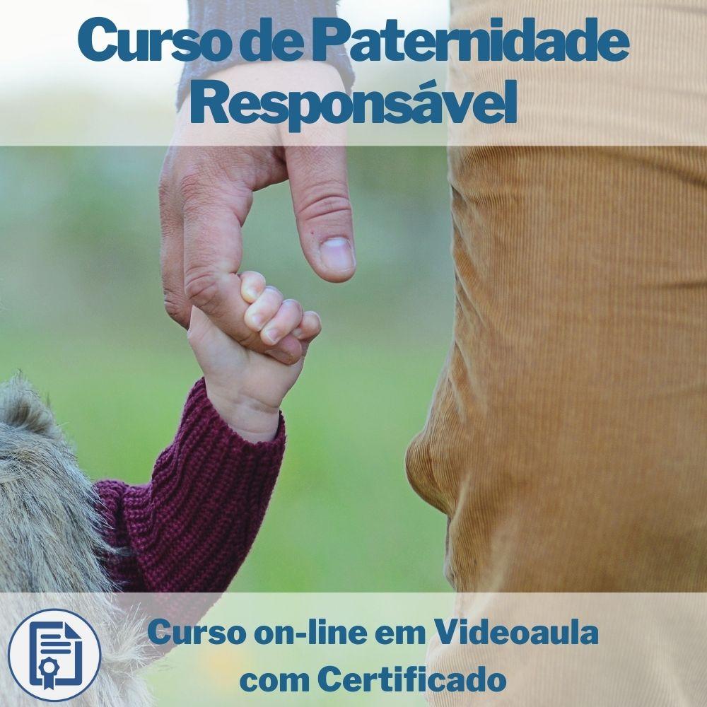 Curso on-line em videoaula de Paternidade Responsável com Certificado  - Aprova Cursos