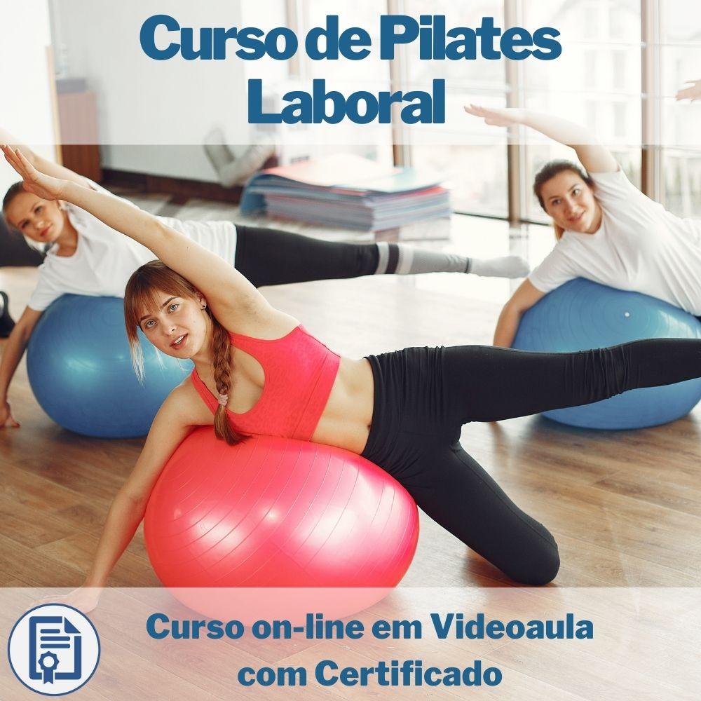 Curso on-line em videoaula de Pilates Laboral com Certificado