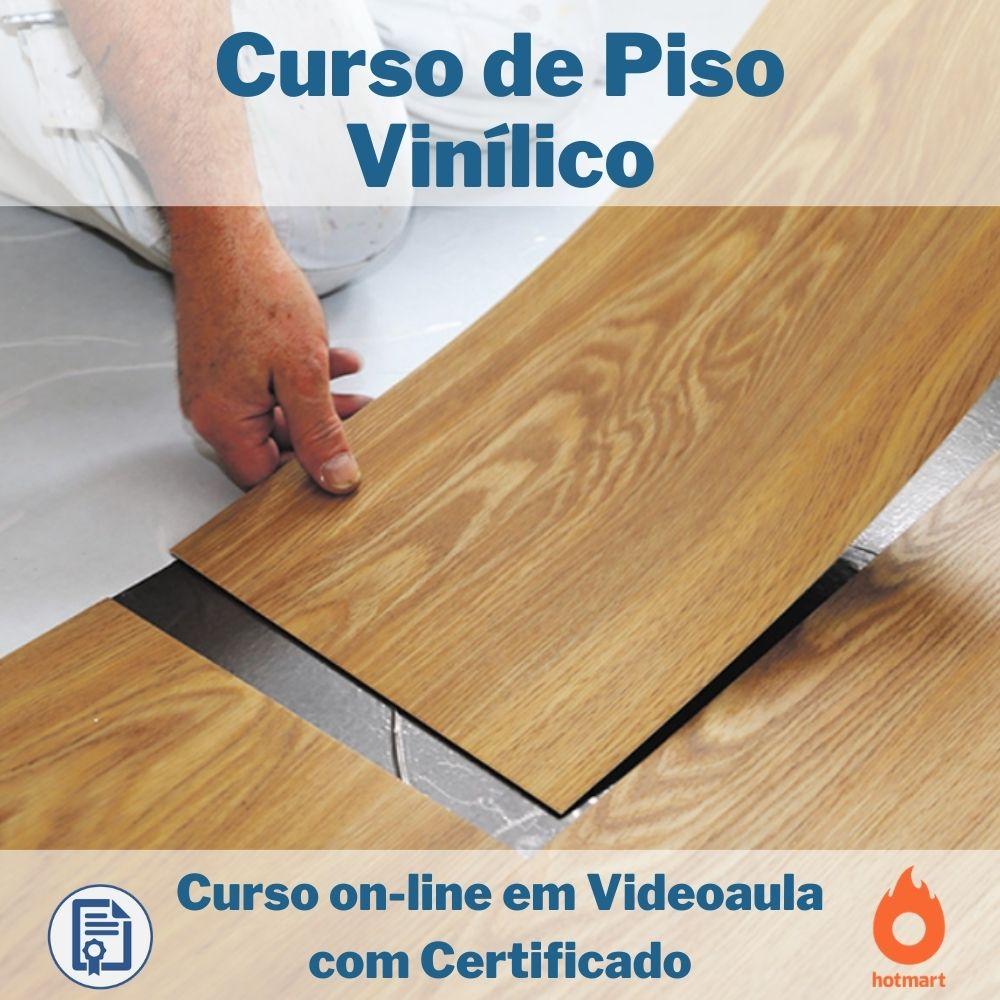 Curso on-line em videoaula de Piso Vinílico com Certificado