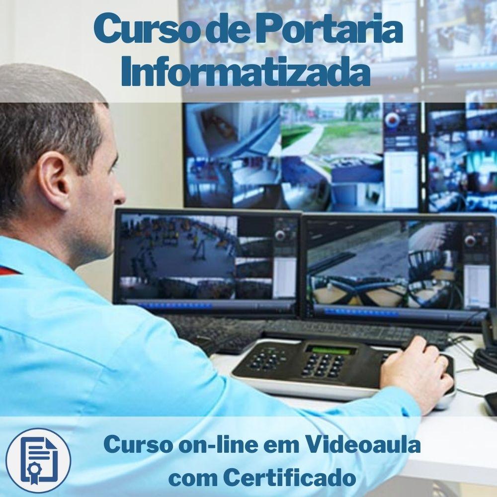 Curso on-line em videoaula de Portaria Informatizada com Certificado