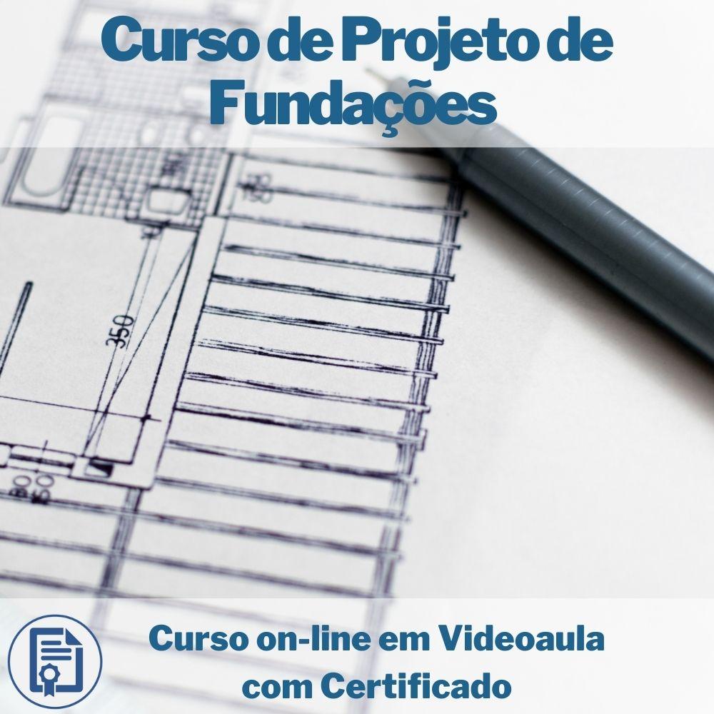 Curso on-line em videoaula de Projeto de Fundações com Certificado