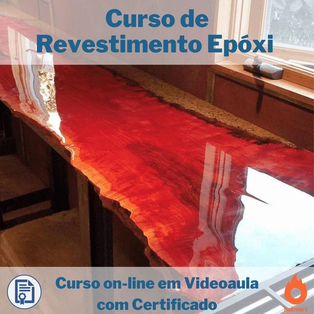 Curso on-line em videoaula de Revestimento Epóxi com Certificado