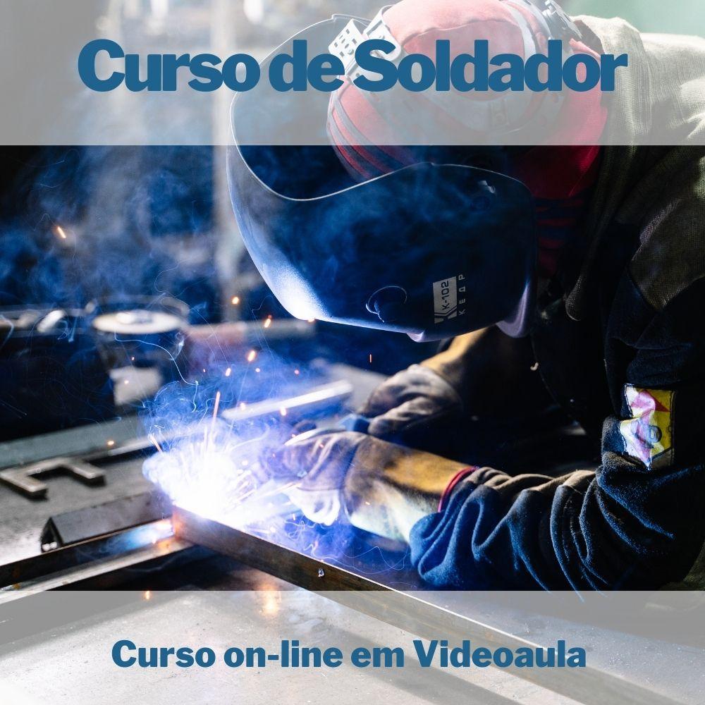 Curso on-line em videoaula de Soldador
