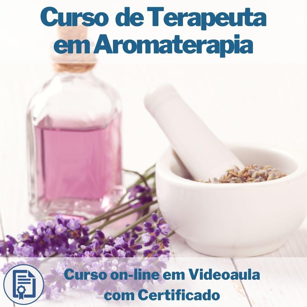 Curso on-line em videoaula de Terapeuta em Aromaterapia com Certificado