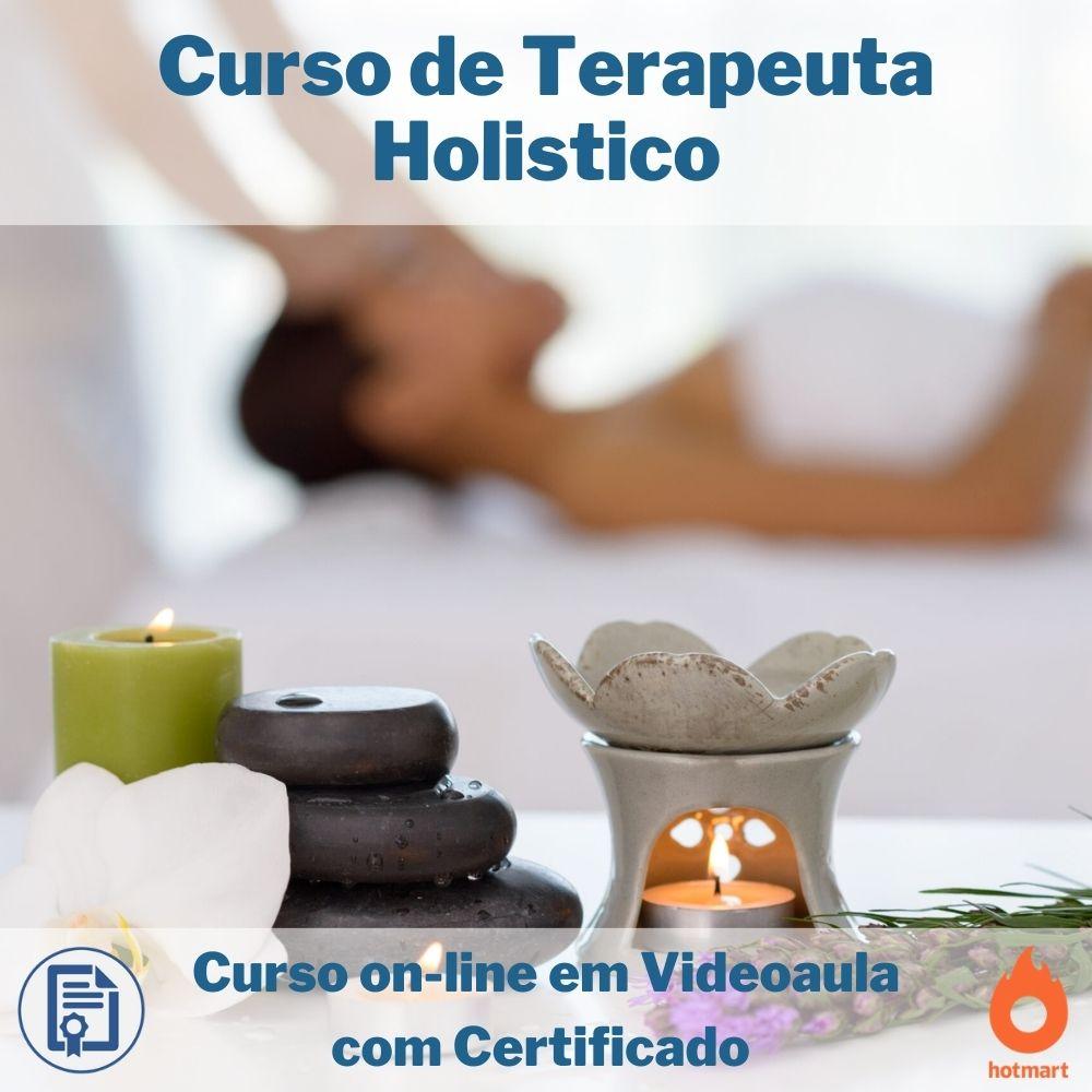 Curso on-line em videoaula de Terapeuta Holistico com Certificado  - Aprova Cursos
