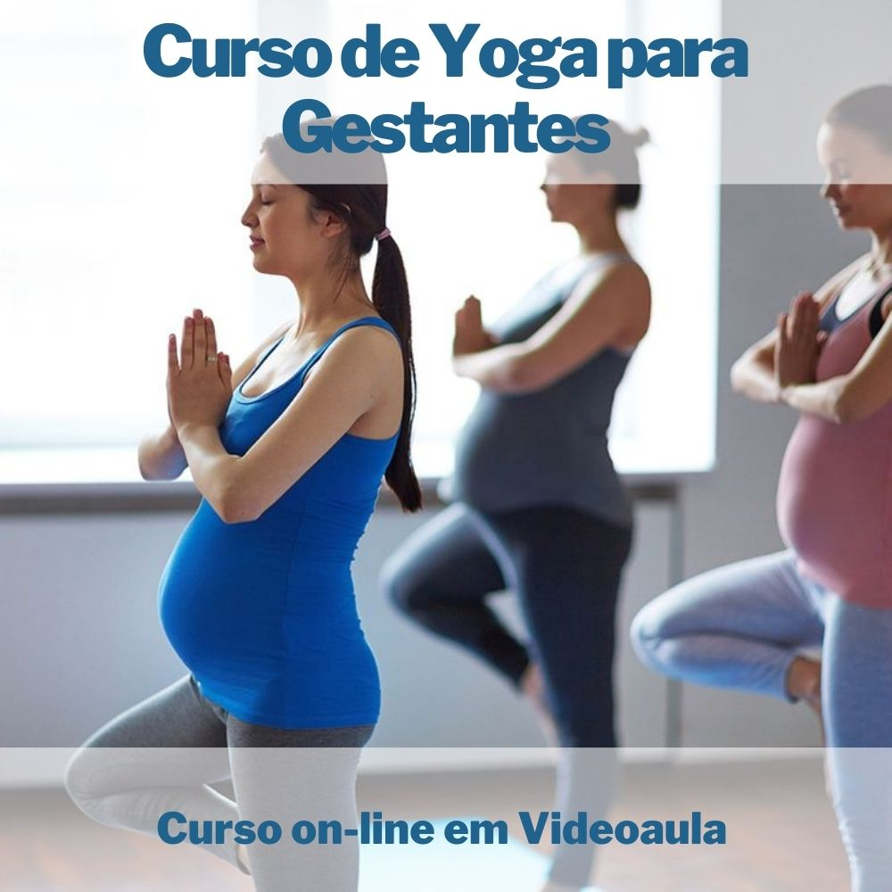 Curso on-line em videoaula de Yoga para Gestantes