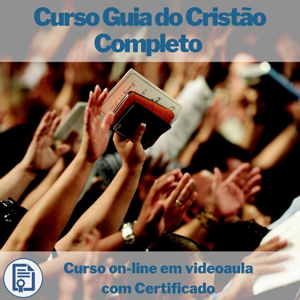 Curso on-line em videoaula Guia do Cristão Completo com Certificado
