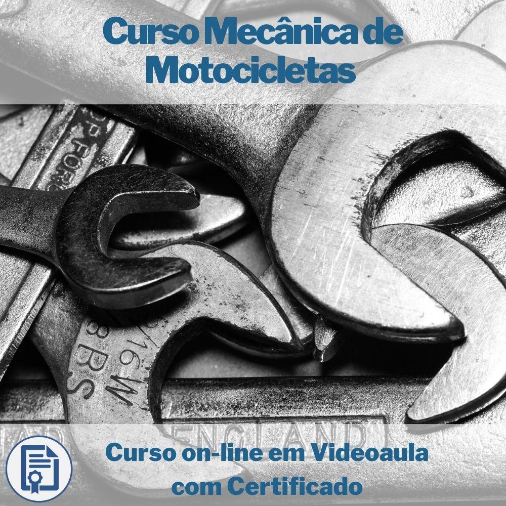 Curso on-line em videoaula Mecânica de Motocicletas com Certificado