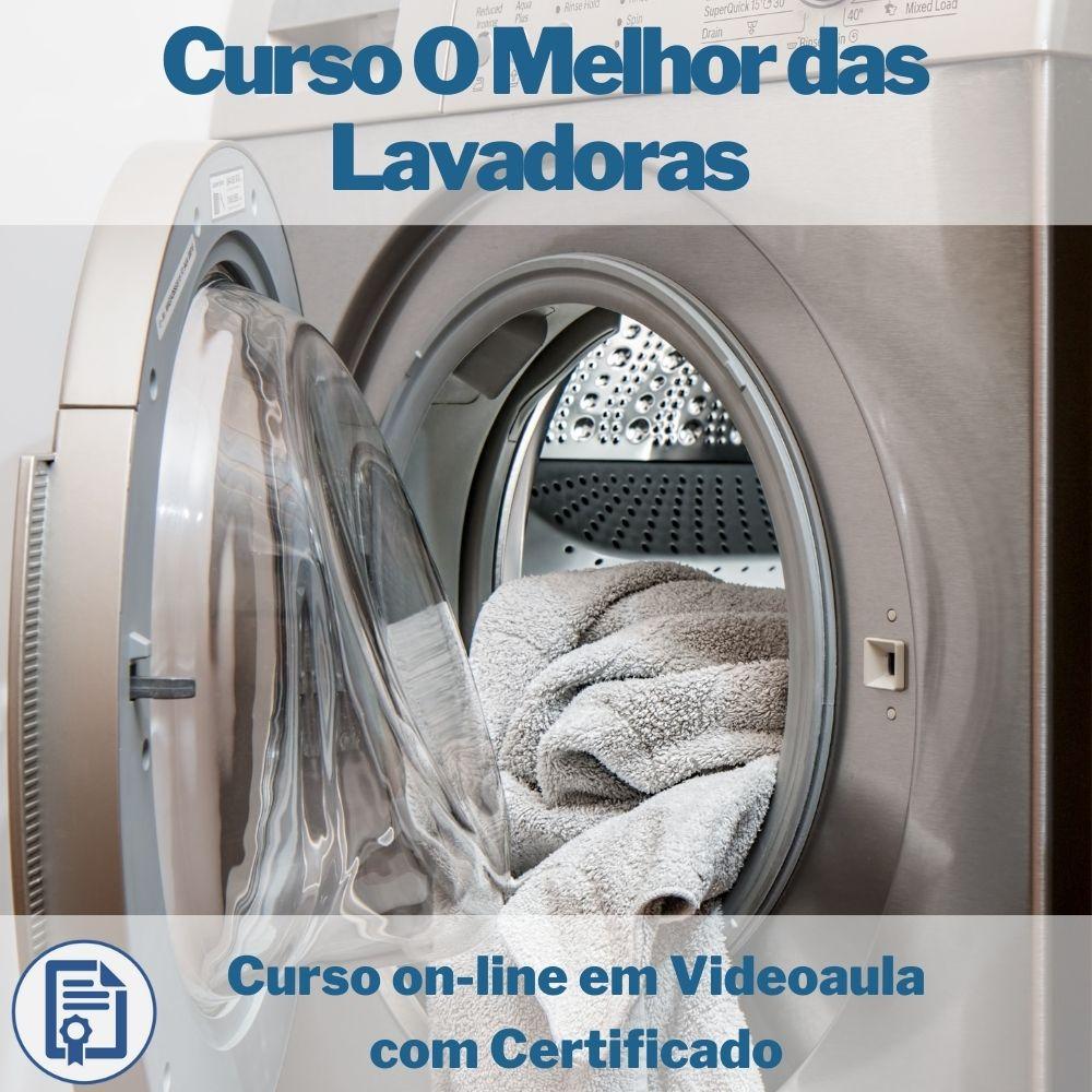 Curso on-line em videoaula Manutenção Lavadoras com Certificado
