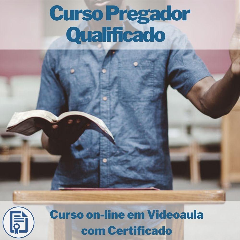 Curso on-line em videoaula Pregador Qualificado com Certificado