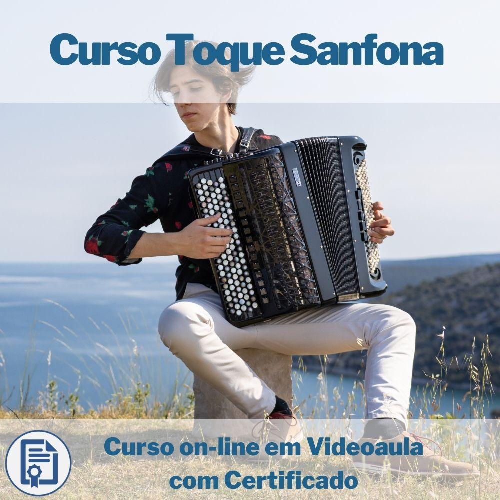 Curso on-line em videoaula Toque Sanfona com Certificado