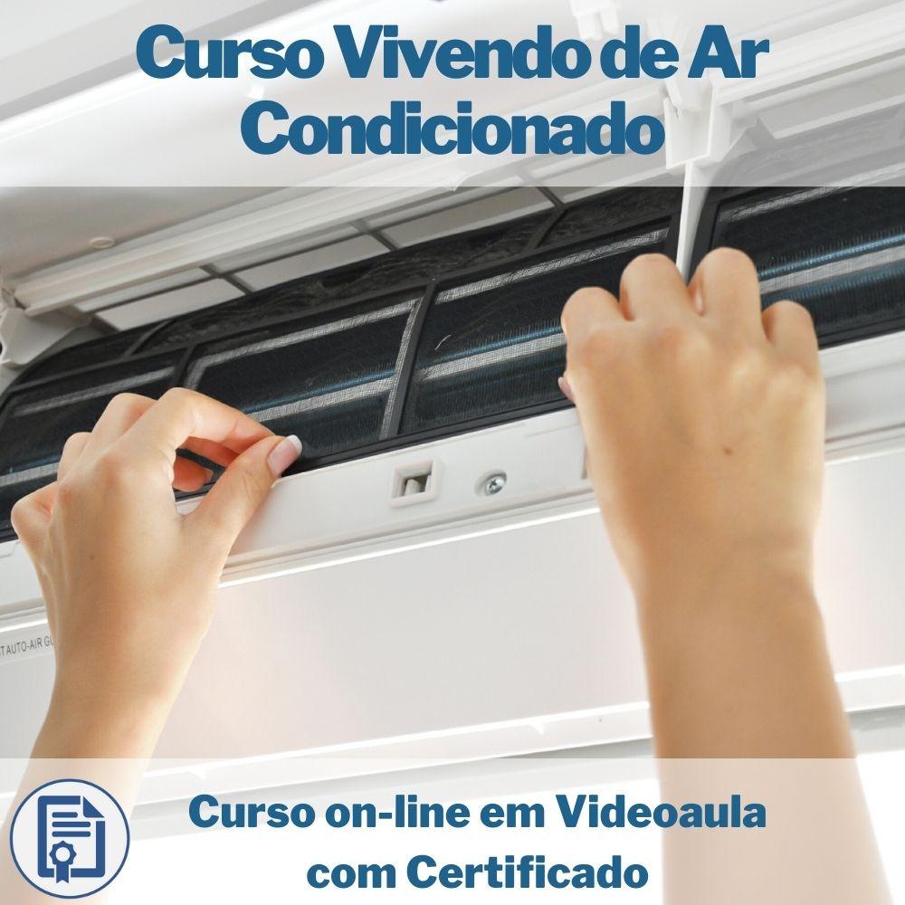 Curso on-line em videoaula Manutenção e Instalação de Ar condicionado Split com Certificado