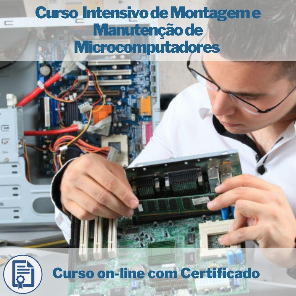 Curso on-line Intensivo de Montagem e Manutenção de Microcomputadores com Certificado