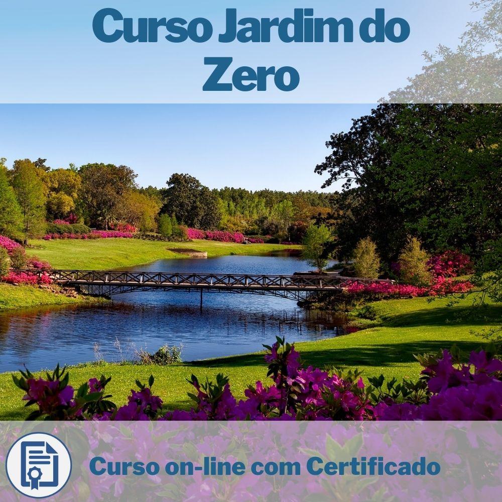 Curso on-line Jardim do Zero com Certificado