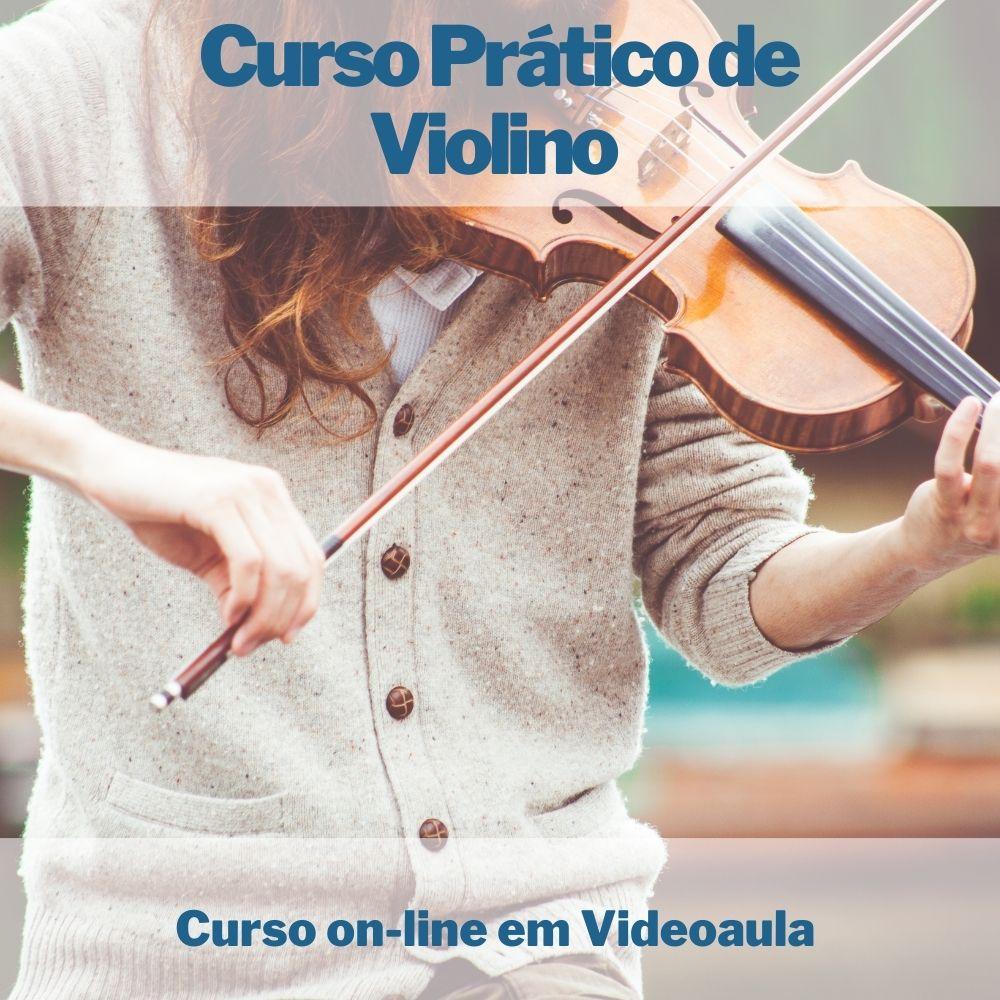 Curso on-line Prático em videoaula de Violino
