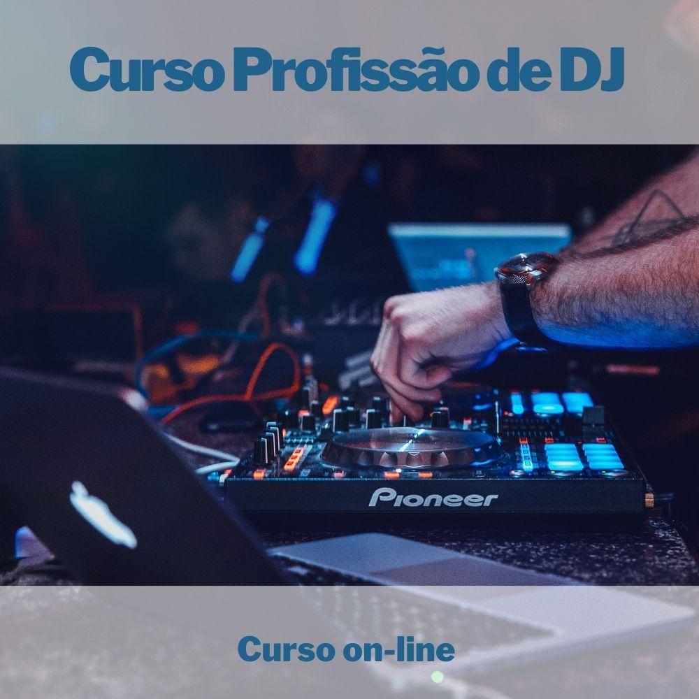 Curso on-line Profissão de DJ