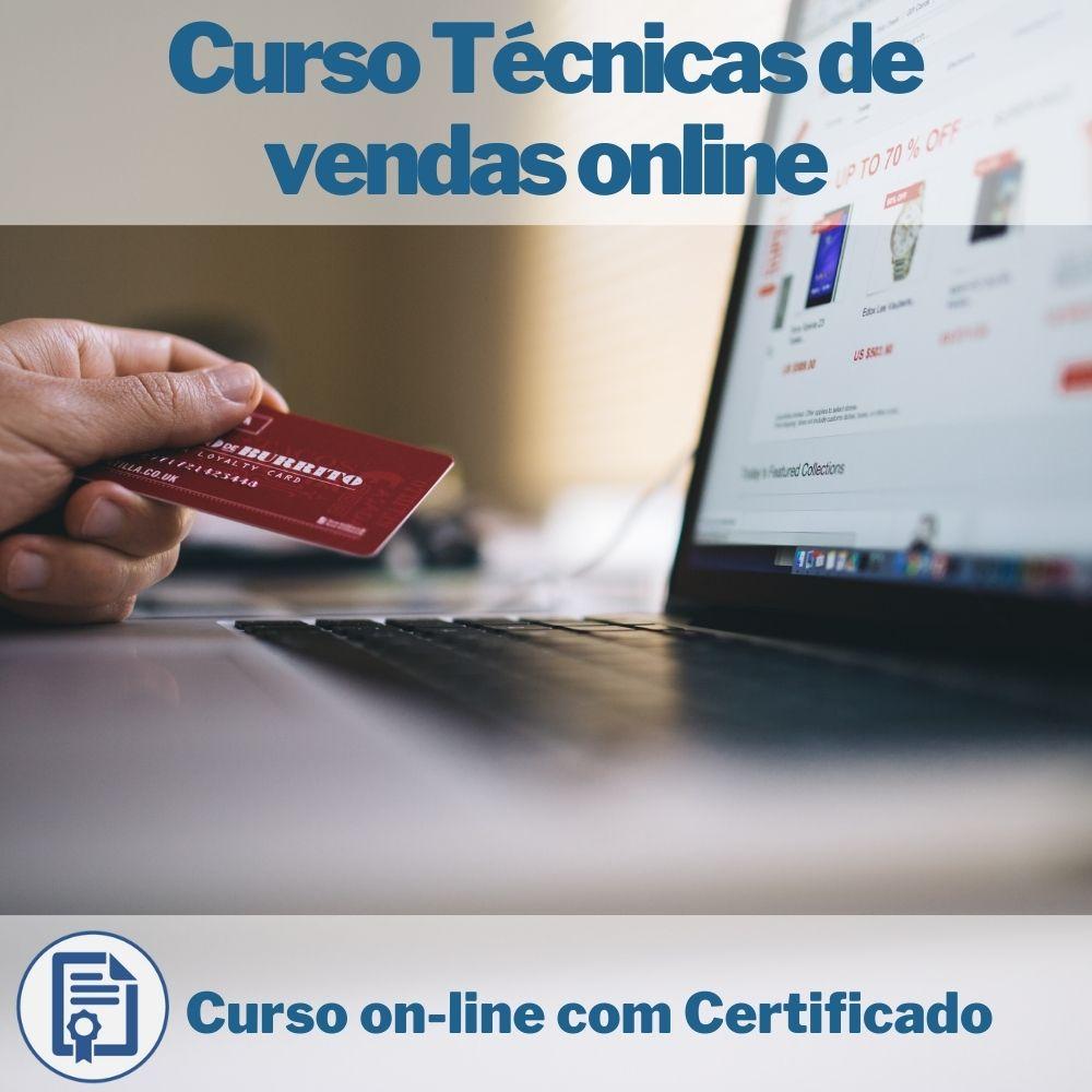 Curso on-line Técnicas de vendas online com Certificado