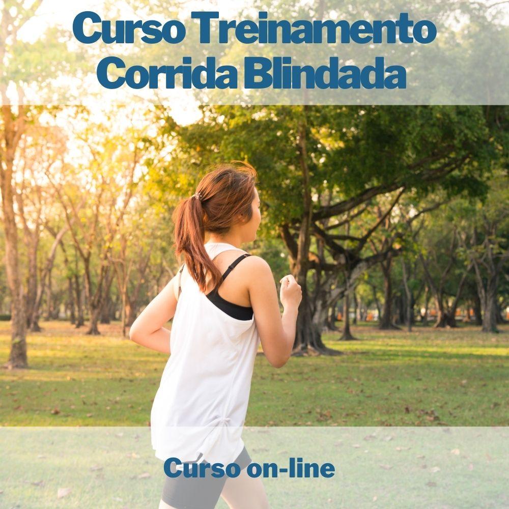 Curso on-line Treinamento Corrida Blindada