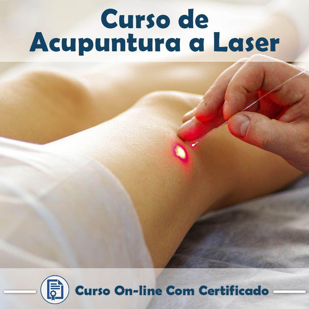Curso Online de Acupuntura a Laser com Certificado