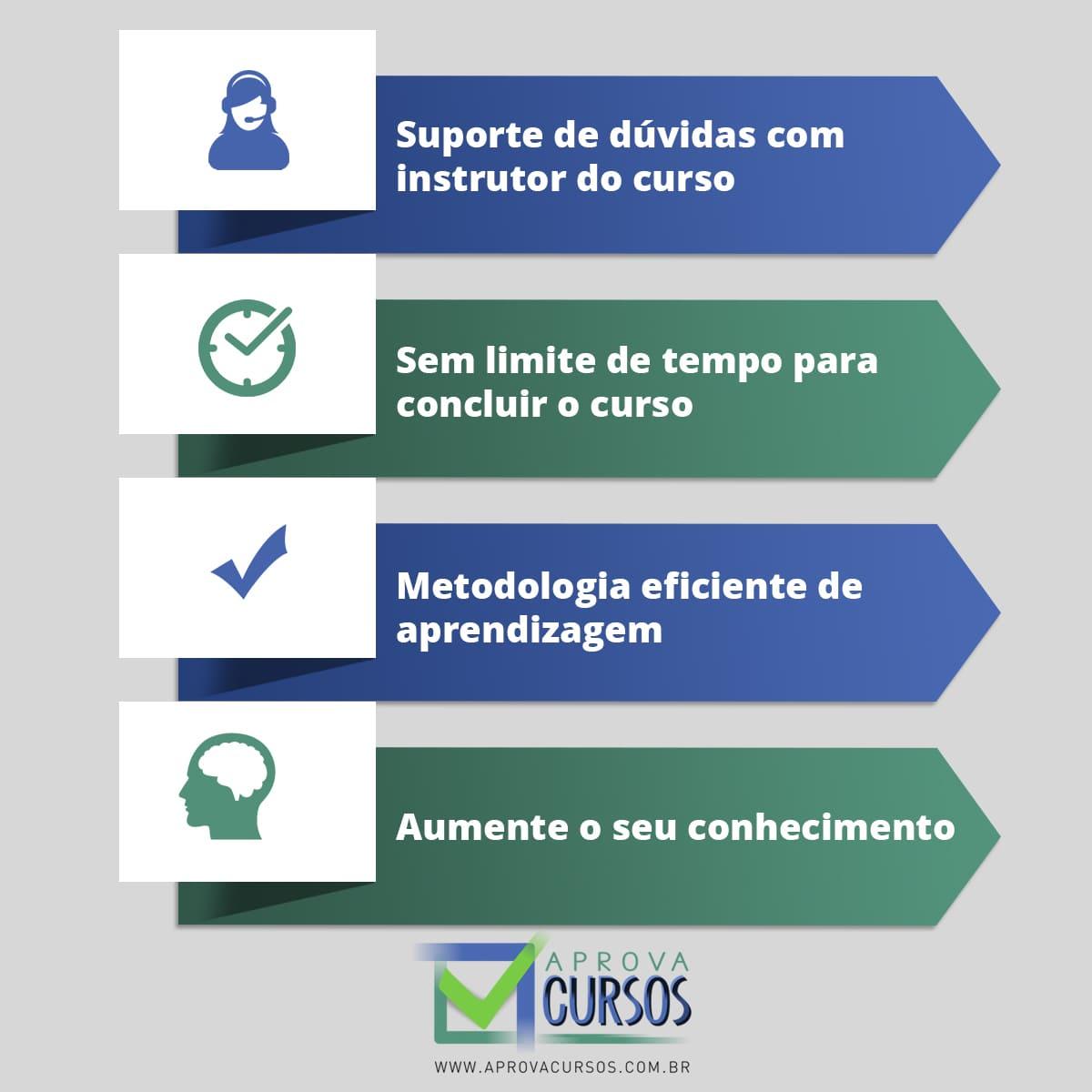 Curso online de Administração Contábil e Financeira + Certificado  - Aprova Cursos