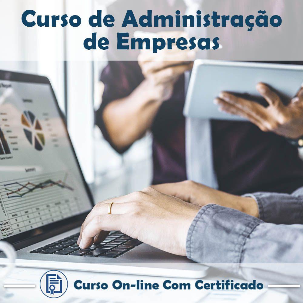 Curso Online de Administração de Empresas com Certificado