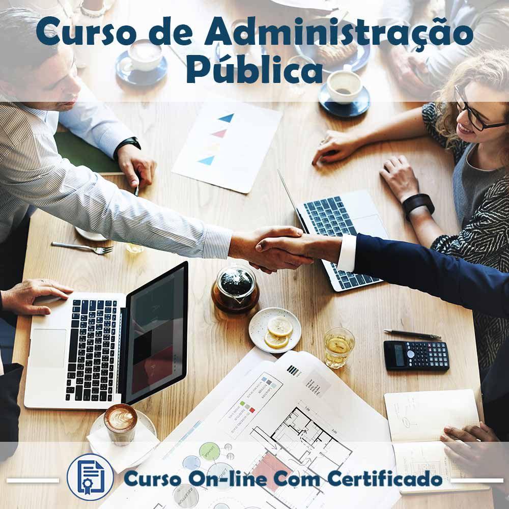 Curso Online de Administração Pública com Certificado