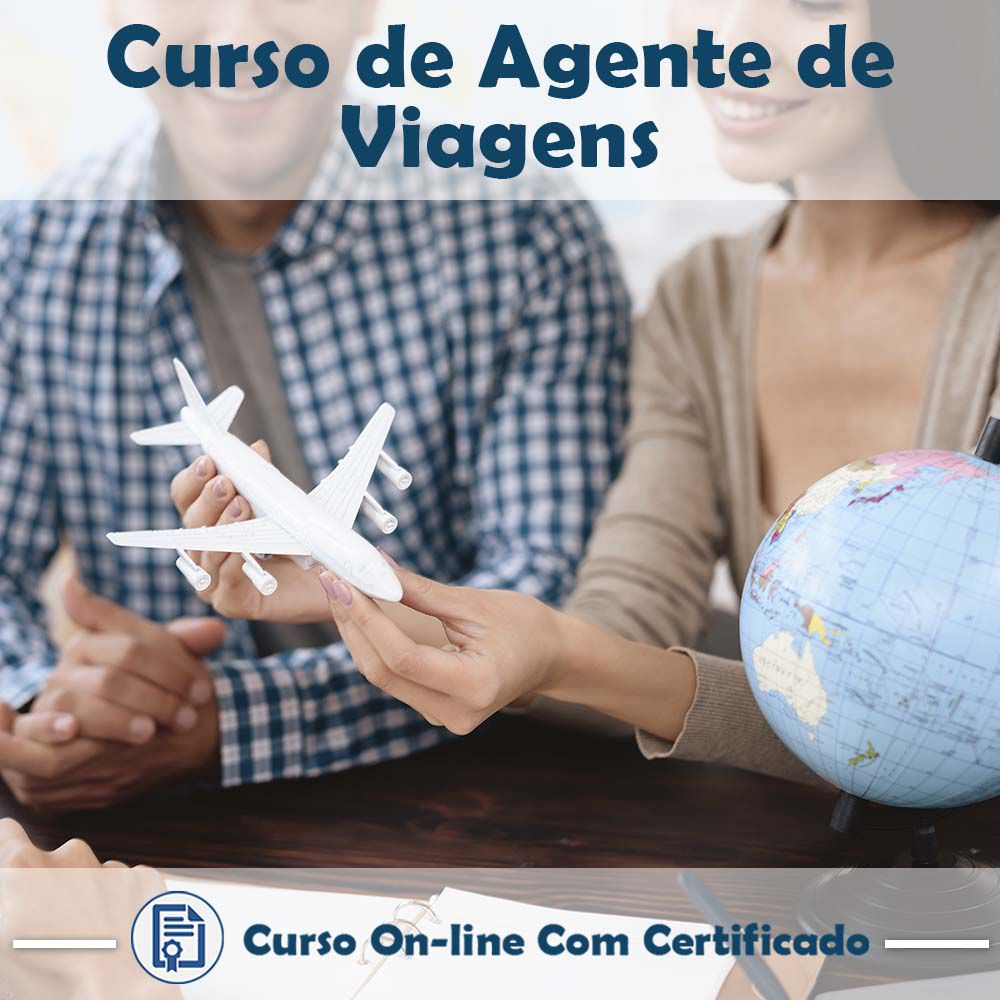 Curso online de Agente de Viagens + Certificado