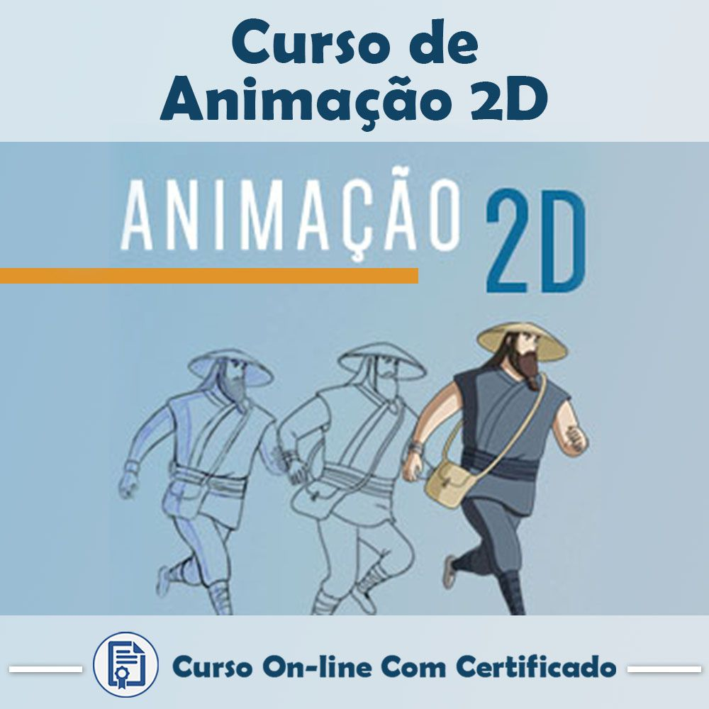 Curso Online de Animação 2D com Certificado  - Aprova Cursos