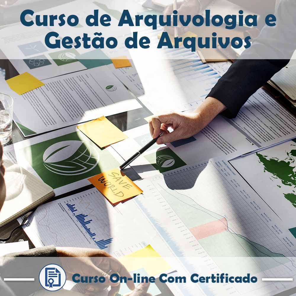 Curso Online de Arquivologia e Gestão de Arquivos com Certificado  - Aprova Cursos