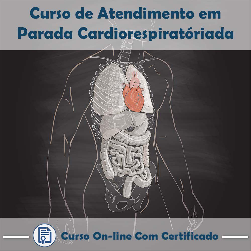 Curso Online de Atendimento em Parada Cardiorrespiratória com Certificado