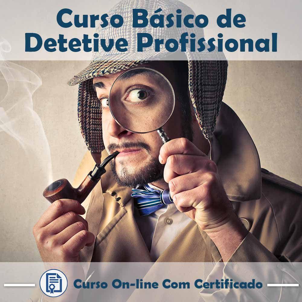 Curso Online Básico de Detetive Profissional com Certificado  - Aprova Cursos