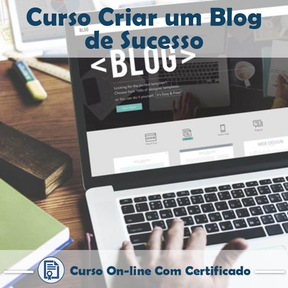 Curso Online Como Criar um Blog de Sucesso com Certificado