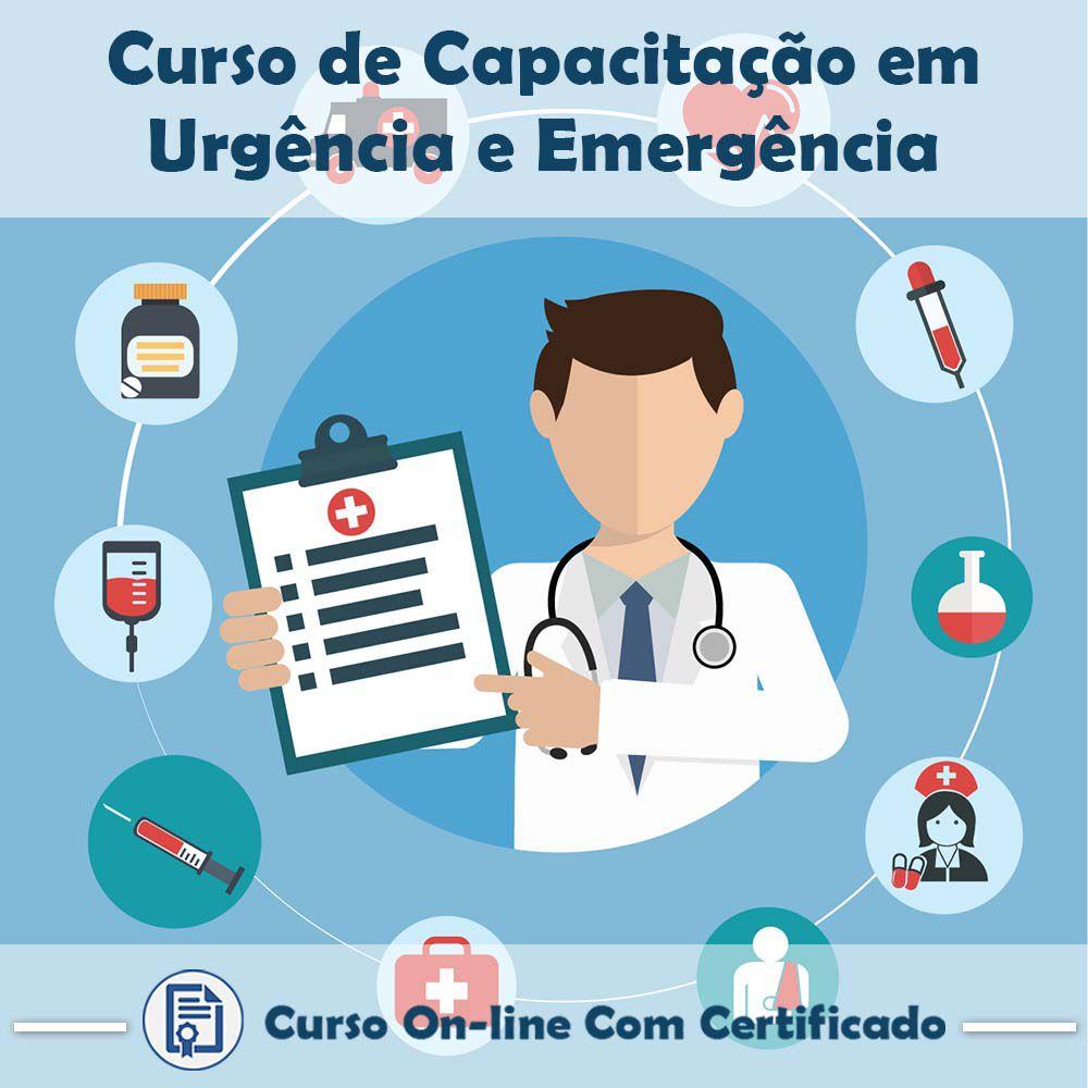Curso Online de Capacitação em Urgência e Emergência com Certificado