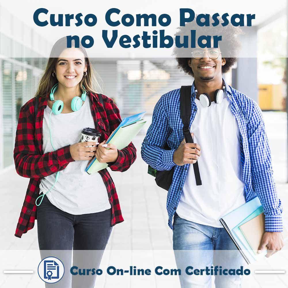 Curso Online Como Passar no Vestibular com Certificado