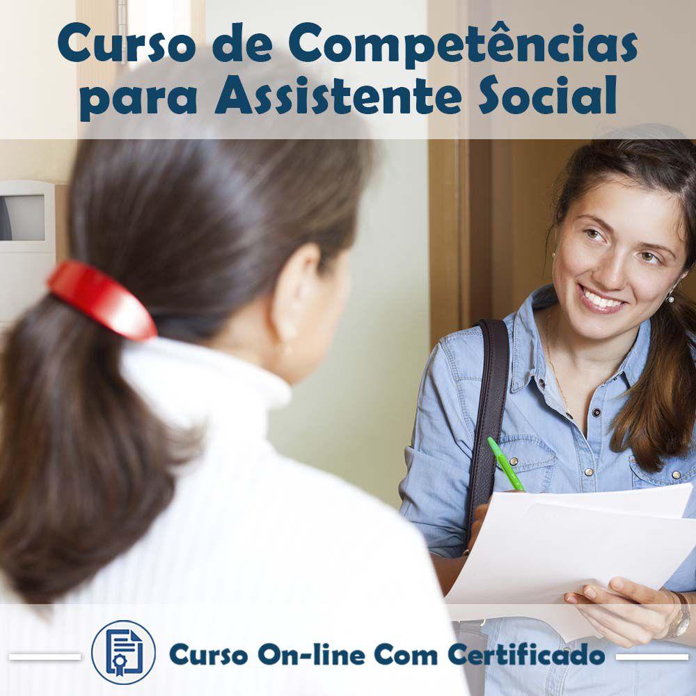 Curso Online de Competências para Assistente Social com Certificado