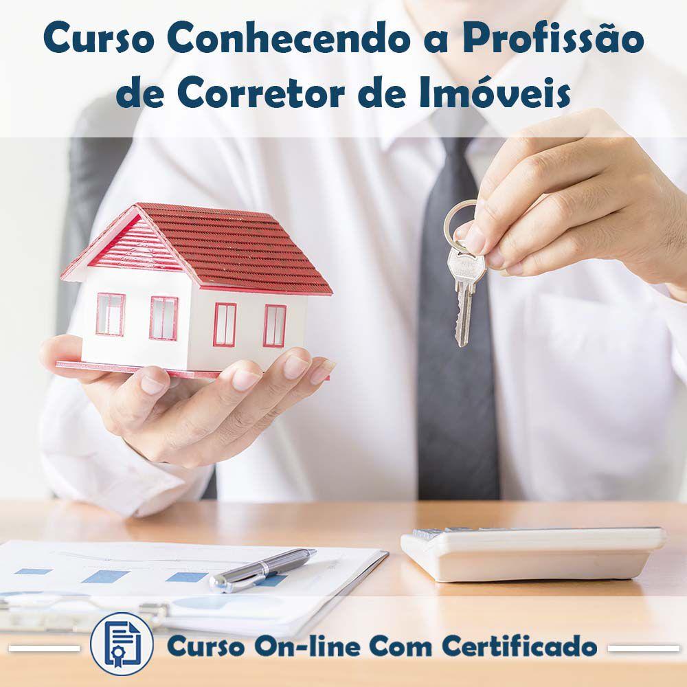 Curso Online Conhecendo a Profissão de Corretor de Imóveis com Certificado  - Aprova Cursos