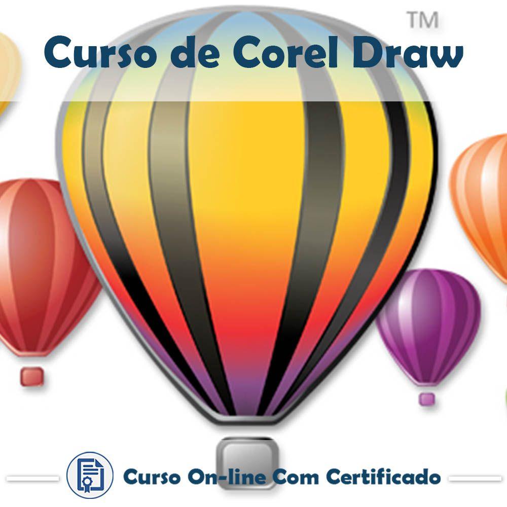 Curso Online de Corel Draw com Certificado  - Aprova Cursos